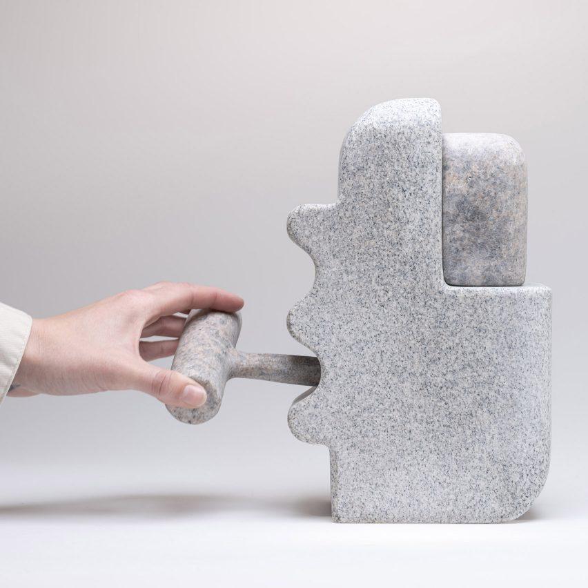 Howard stone sculptures by Matt Byrd