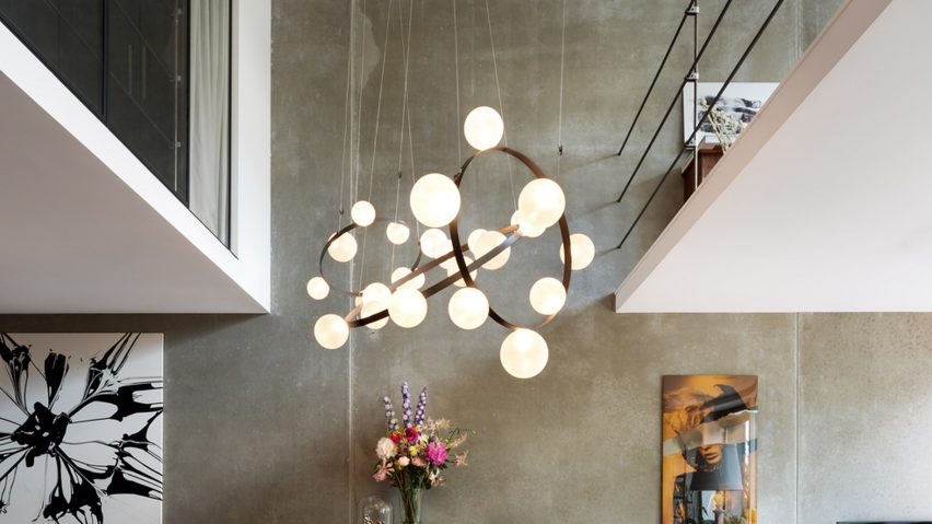 Hubble Bubble light by Marcel Wanders studio for Moooi