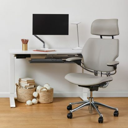 Freedom Headrest chair by Niels Diffrient for Humanscale