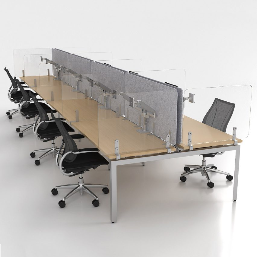 WellGuard Separation Panels by Humanscale