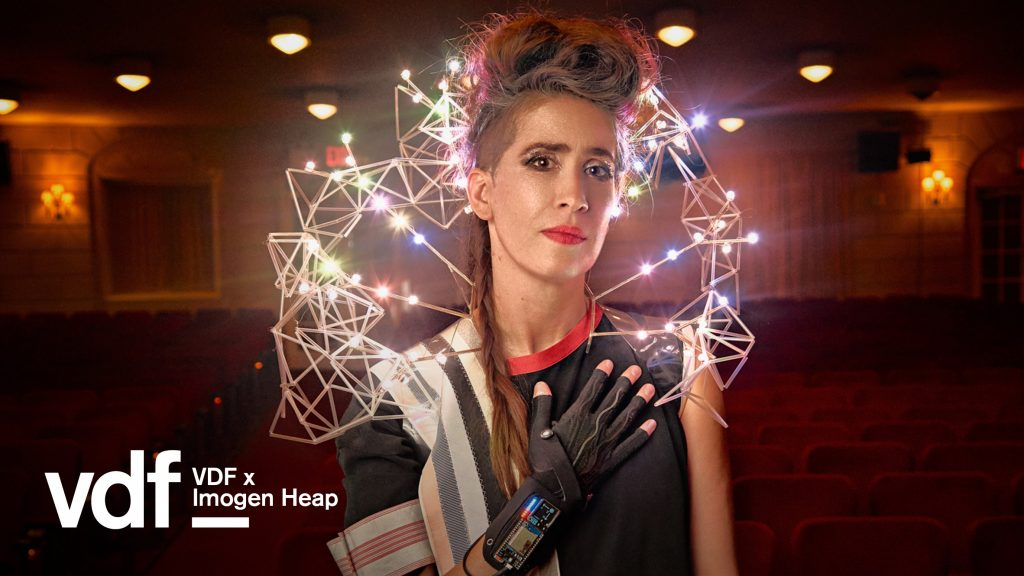 Imogen Heap closes Virtual Design Festival with live performance
