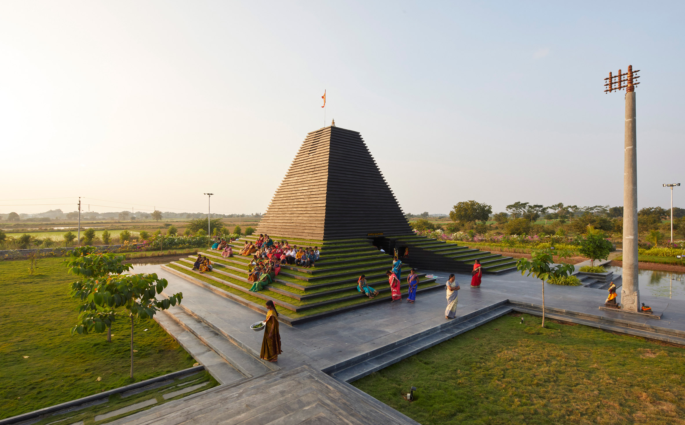 Temple to Balaji & Varahaswamy in Nandyal, Andhra Pradesh, India, by Sameep Padora & Associates