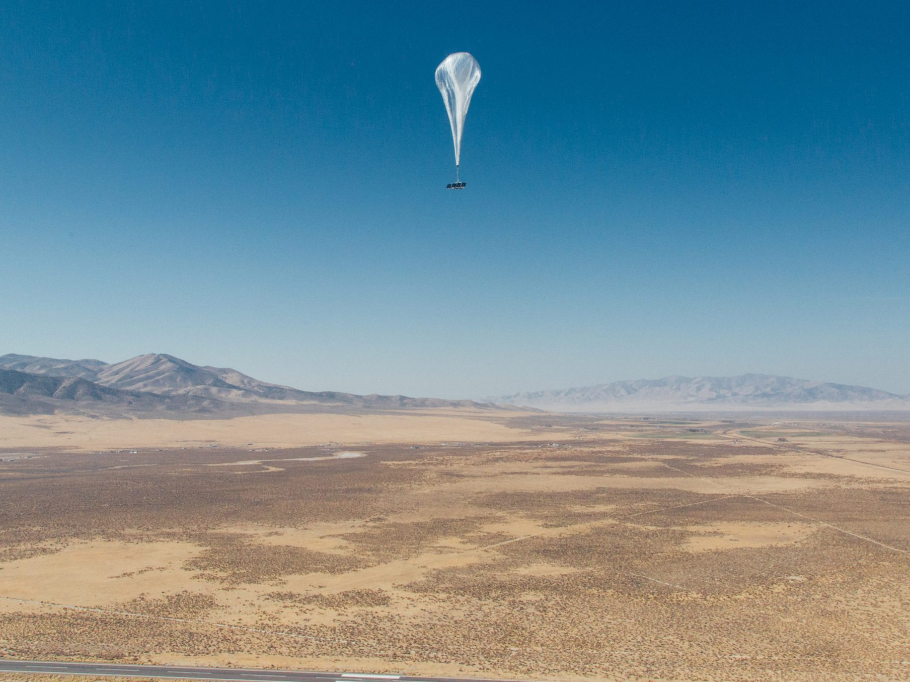 Loon launches floating balloon-powered internet service in Kenya