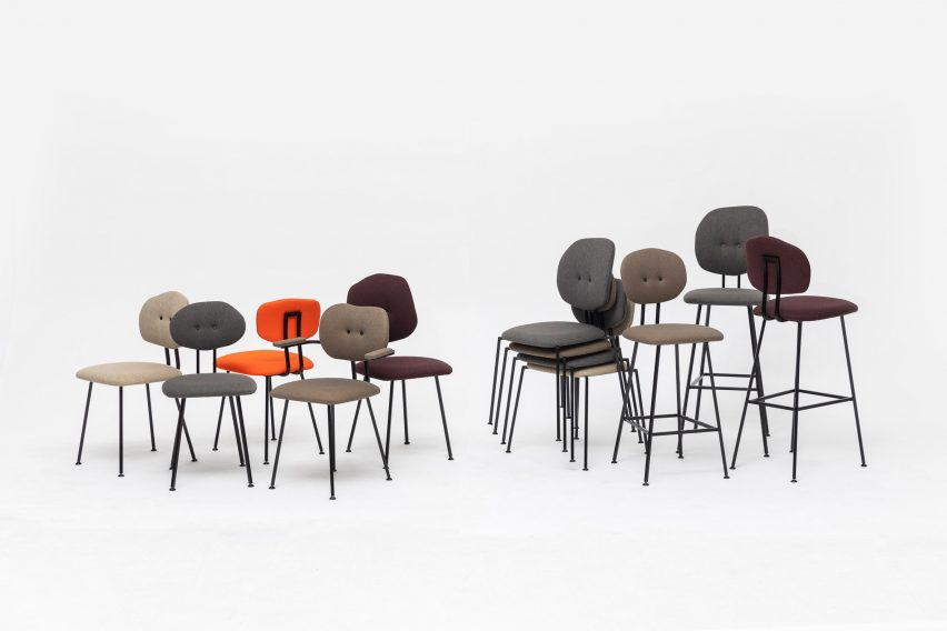 Baas' chairs for Lensvelt