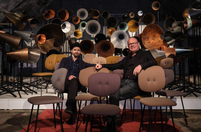 Maarten Baas and Hans Lensvelt