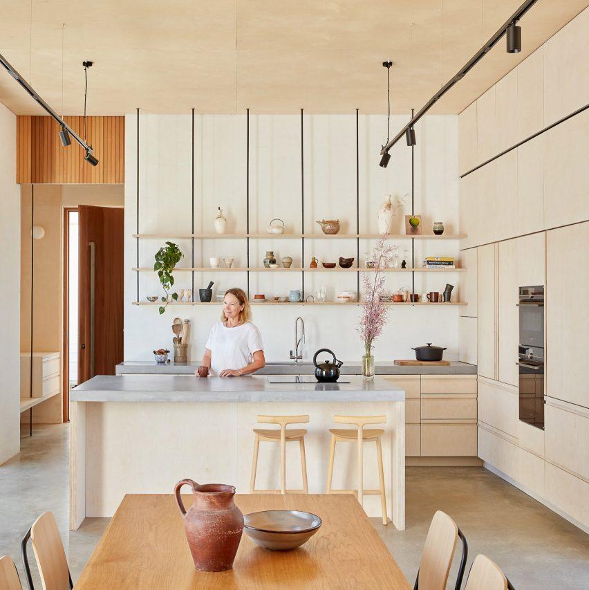 Ampliación de casa marina diseñada por David Barr Architects