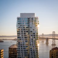 Studio Gang completes twisting Mira tower in San Francisco