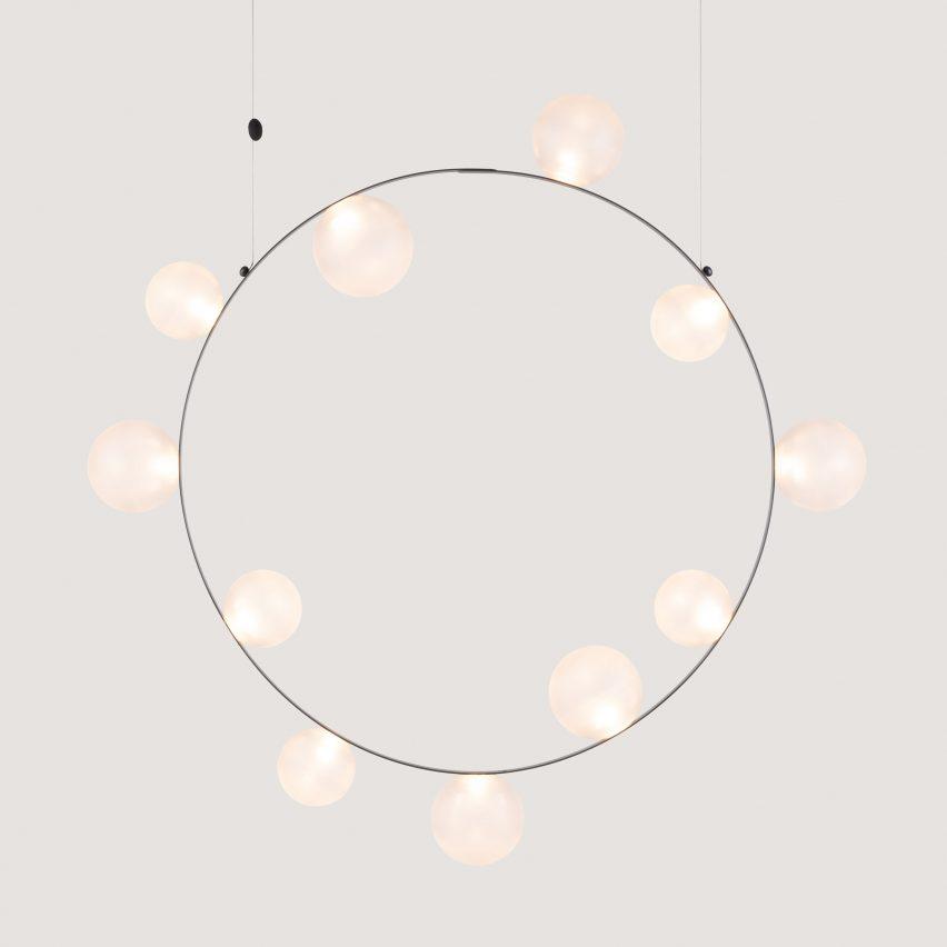 Moooi's Hubble Bubble light by Marcel Wanders