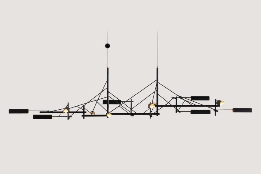 Joost van Bleiswijk's Tinkering light for Moooi