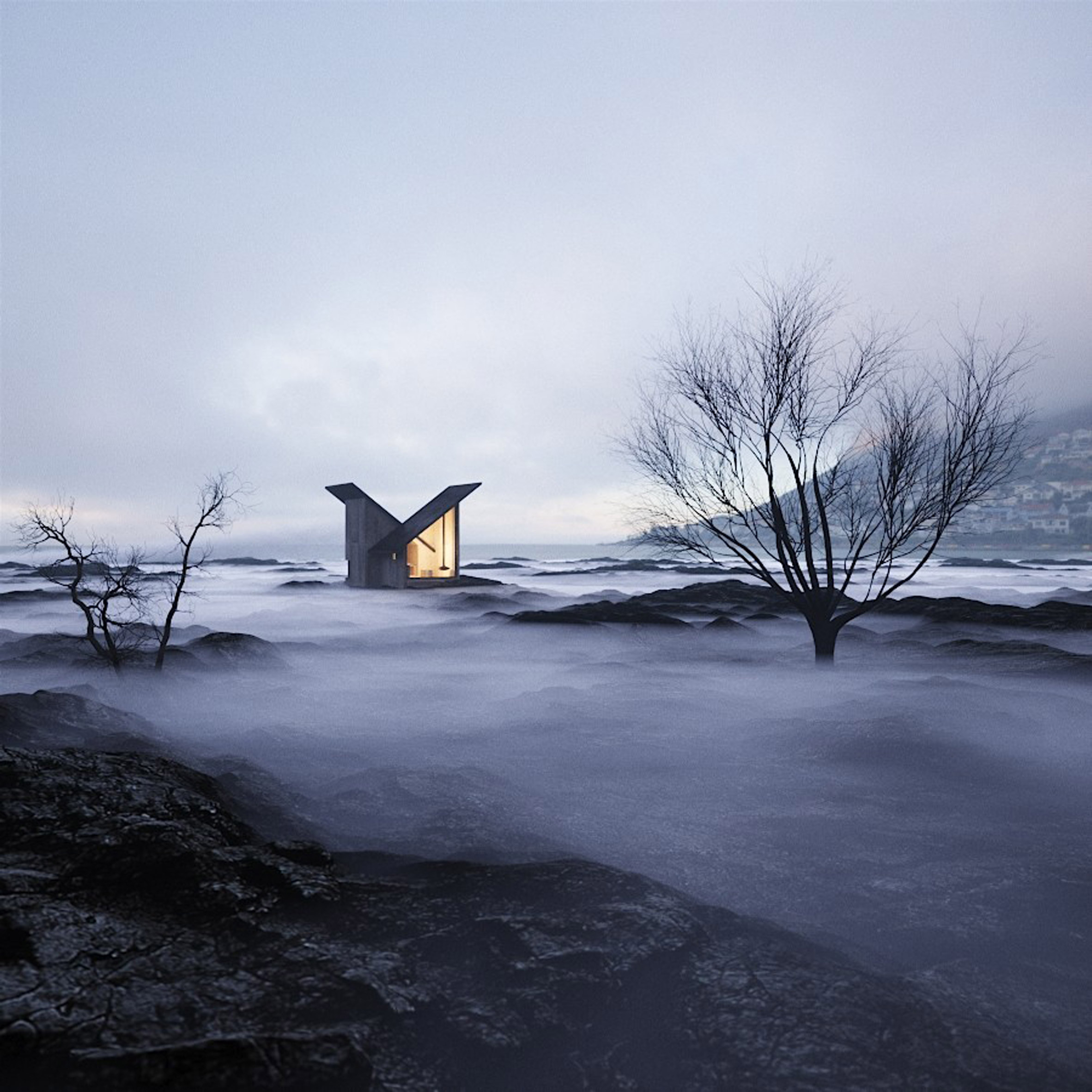 Mountain Refuge by Massimo Gnocchi and Paolo Danesi