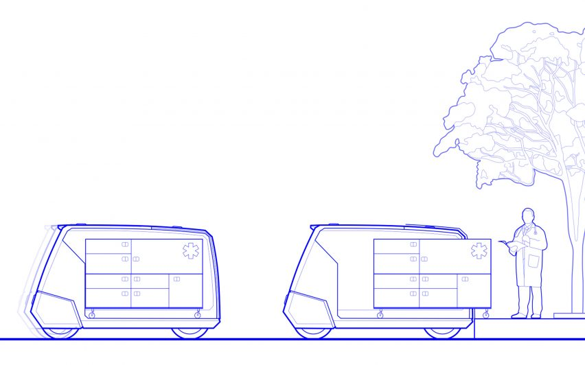 "Jens Martin Skibsted designs ""pandemic proof"" non-emergency medical transport for cities"