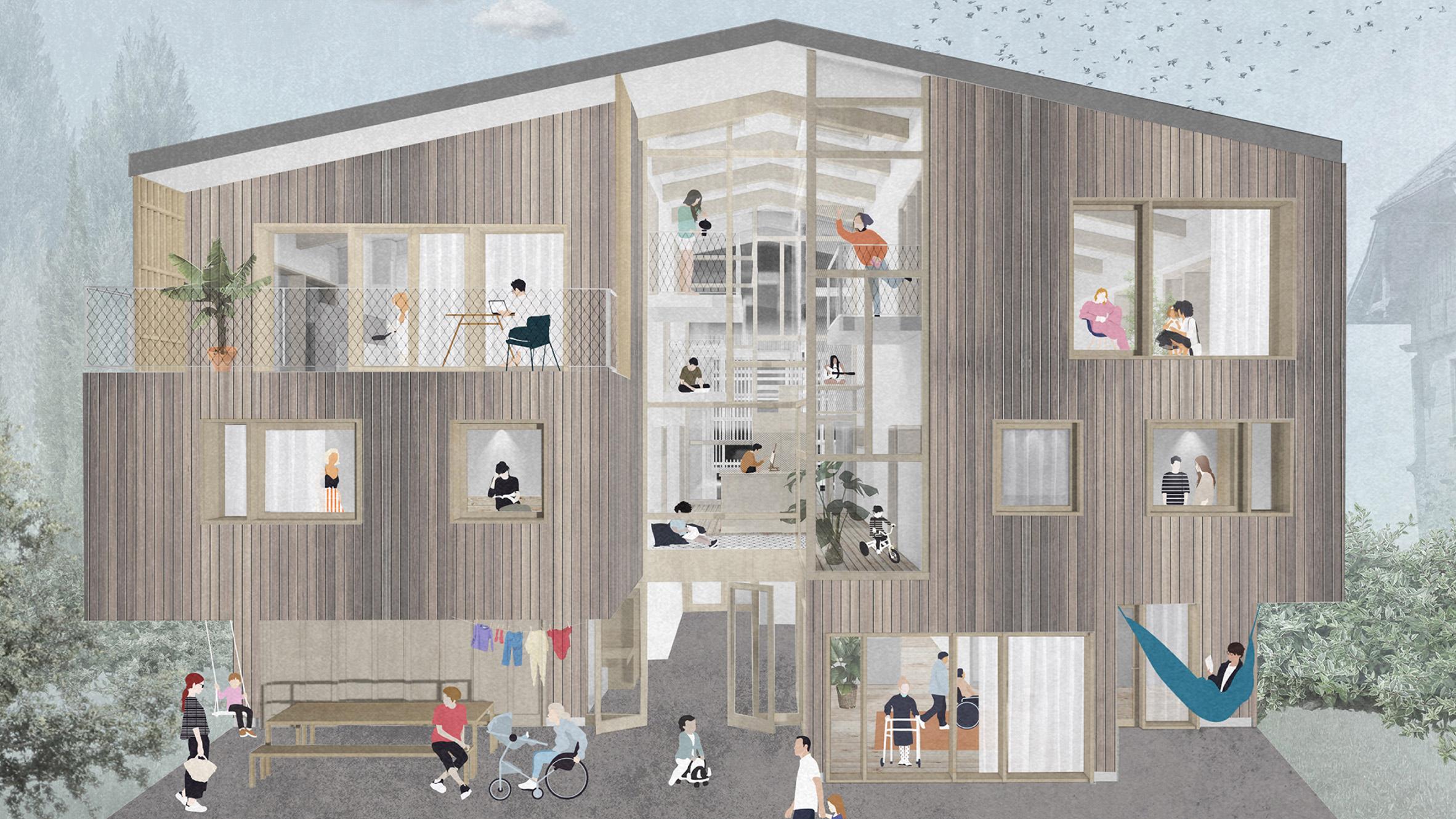 Mehrhaus by Anna Wieser
