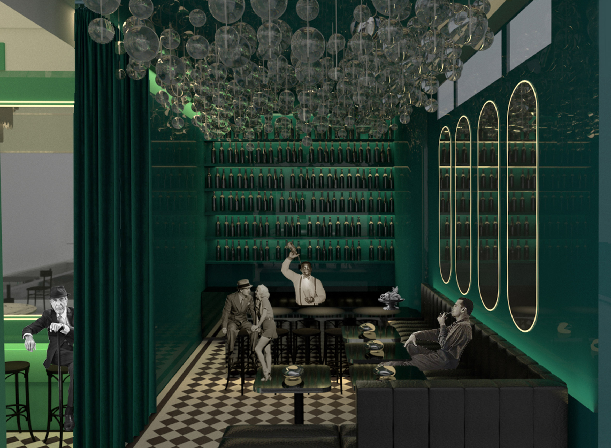 Das Karl – Restaurant in the Otto Wagner Pavilion by Sissi Kasacek