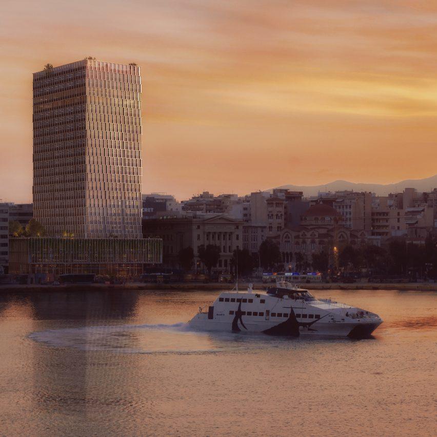 PILA unveils plan to rejuvenate Greece's long-abandoned Piraeus Tower