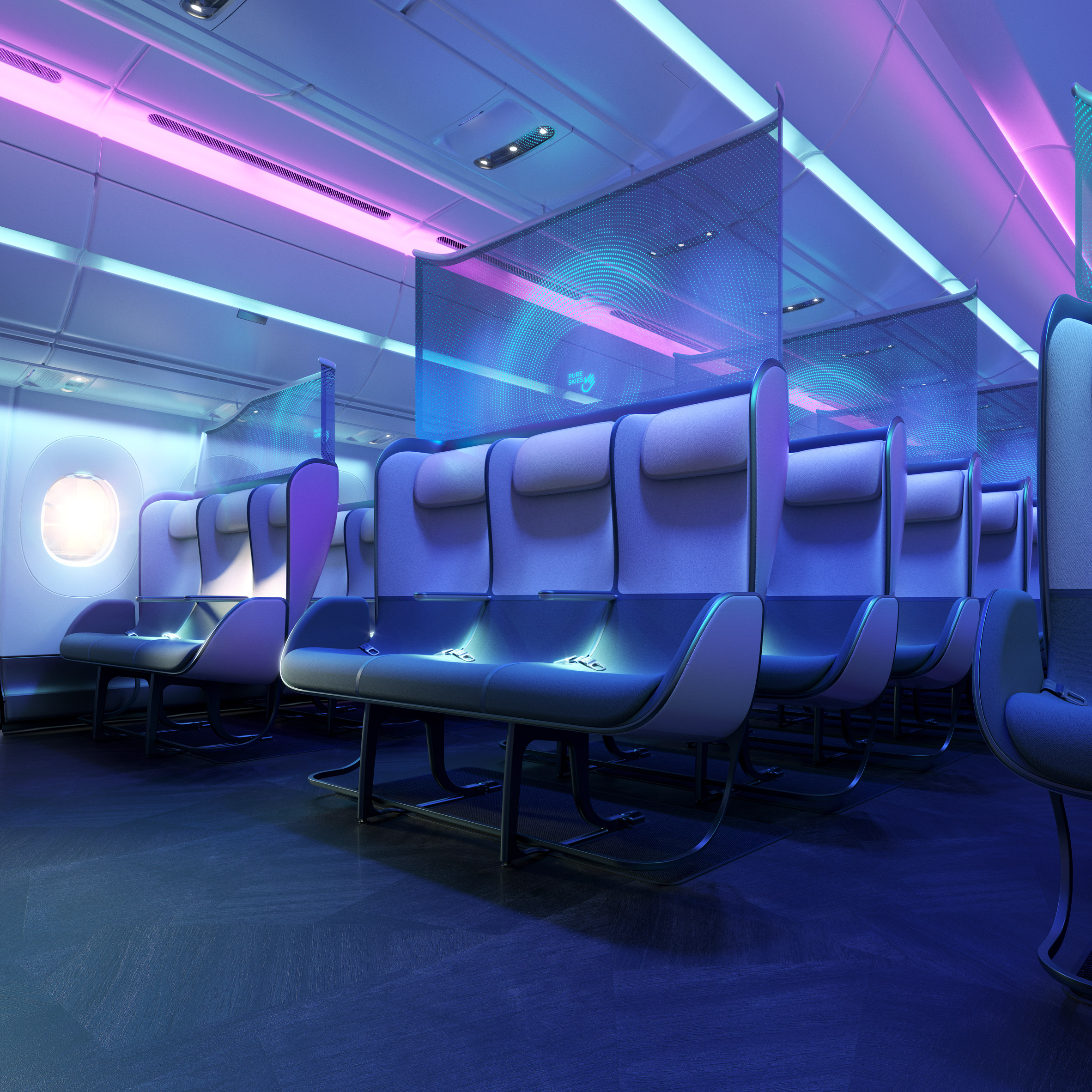Priestmangoode Redesigns Air Travel For Life Post Covid