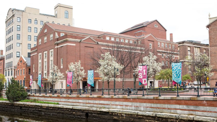 RISD campus in Providence, Rhode Island