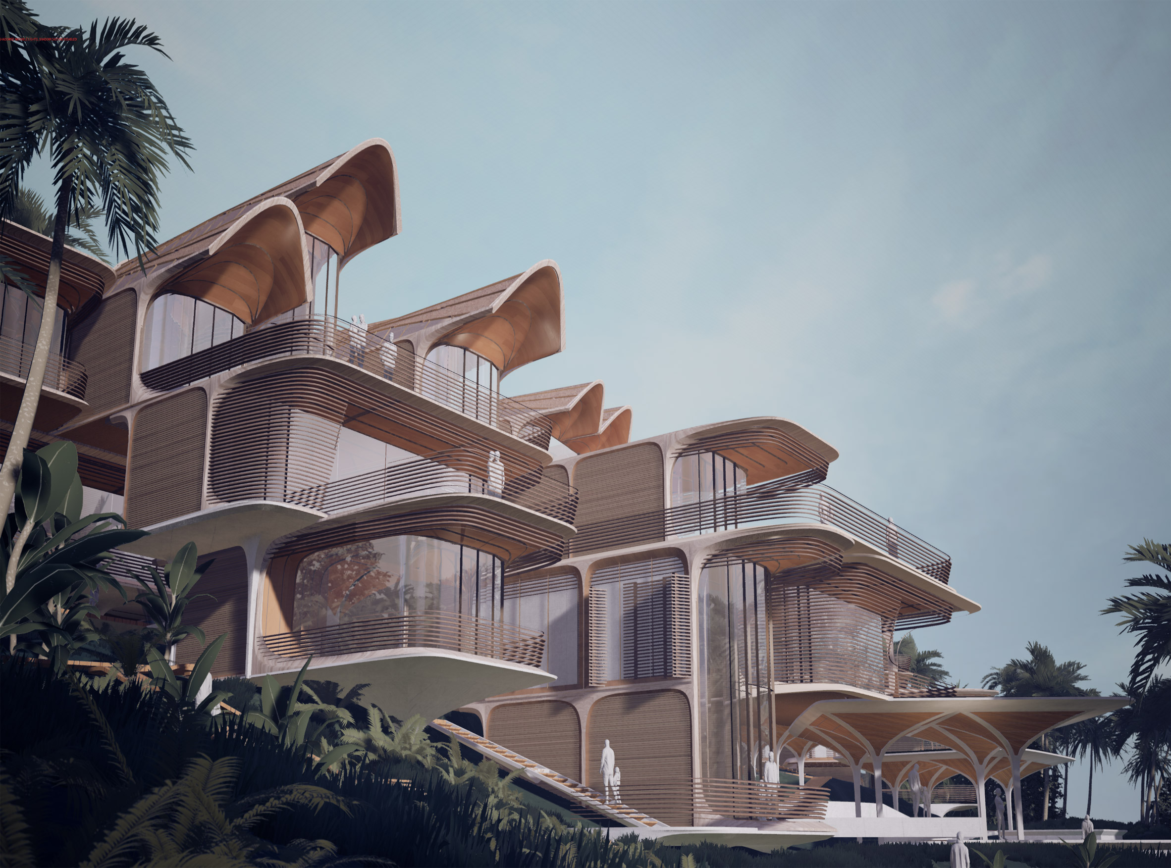 Roatán Próspera Residences by Zaha Hadid Architects
