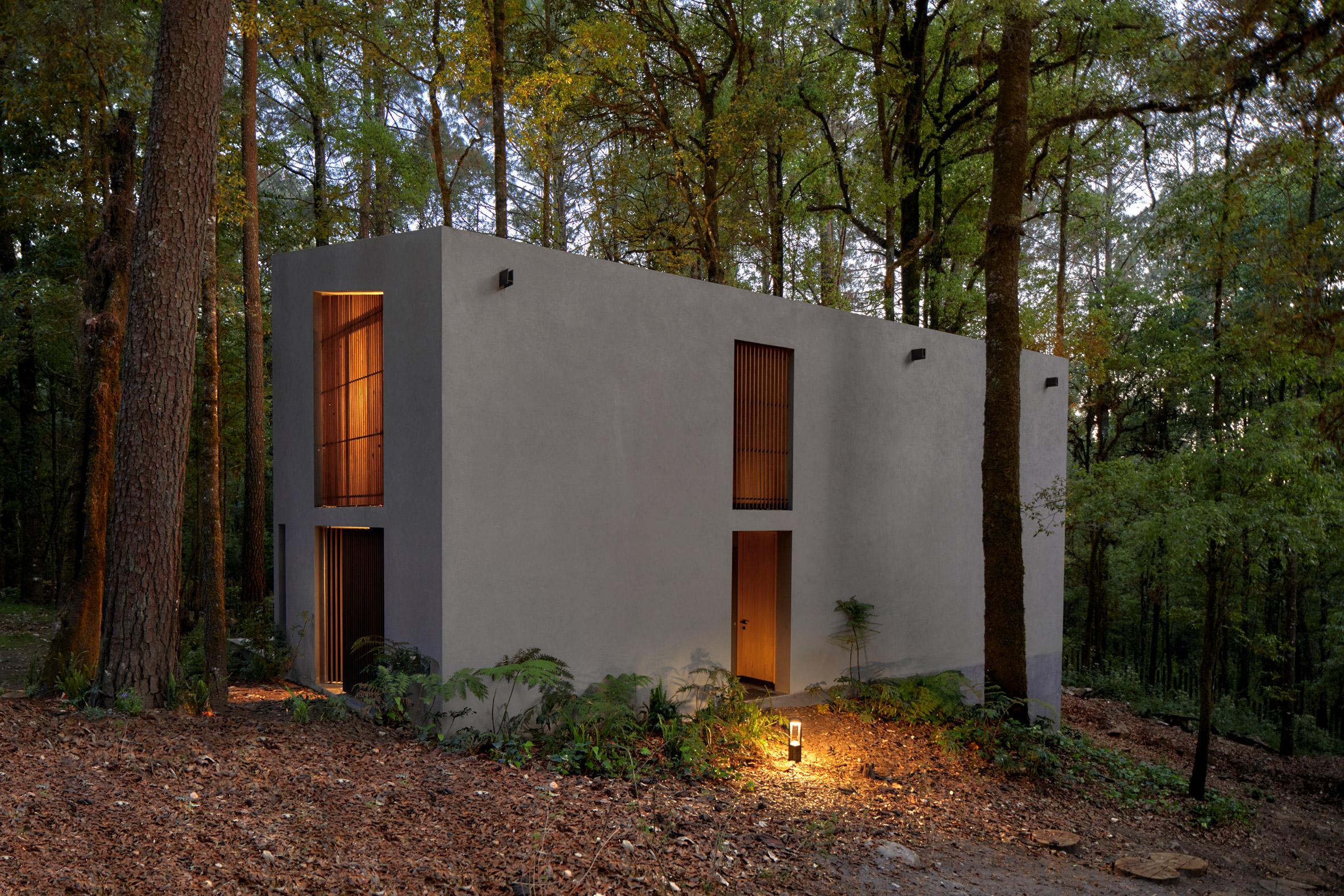 San Simon Cabins by Weber Arquitectos
