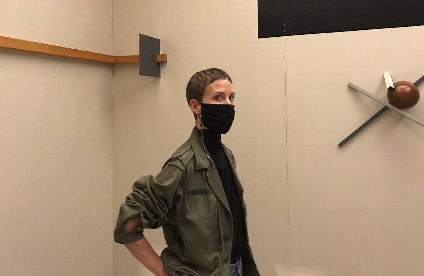 Chained masks by German jewellery designer Saskia Diez