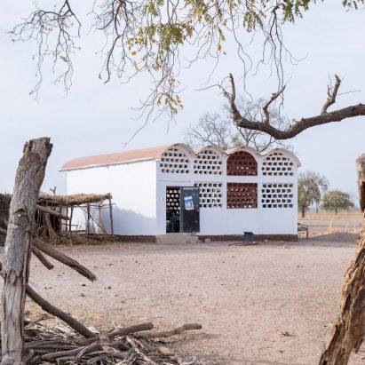 School in Makabing Sidi, Senegal, by Manuel Herz ArchitectsandMagueye Ba