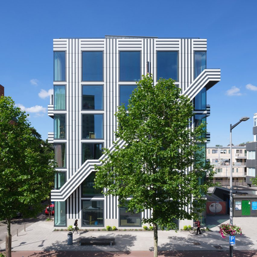 """Thonik """"brings graphic design to the streets"""" with its Amsterdam studio"""