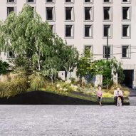 Stefano Boeri designs hybrid tree planters and street furniture