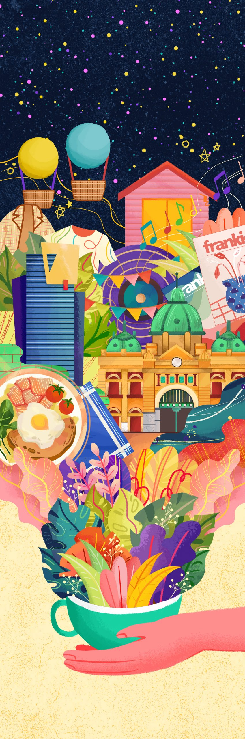 Swinburne School of Design projects span animation, UX and urban design