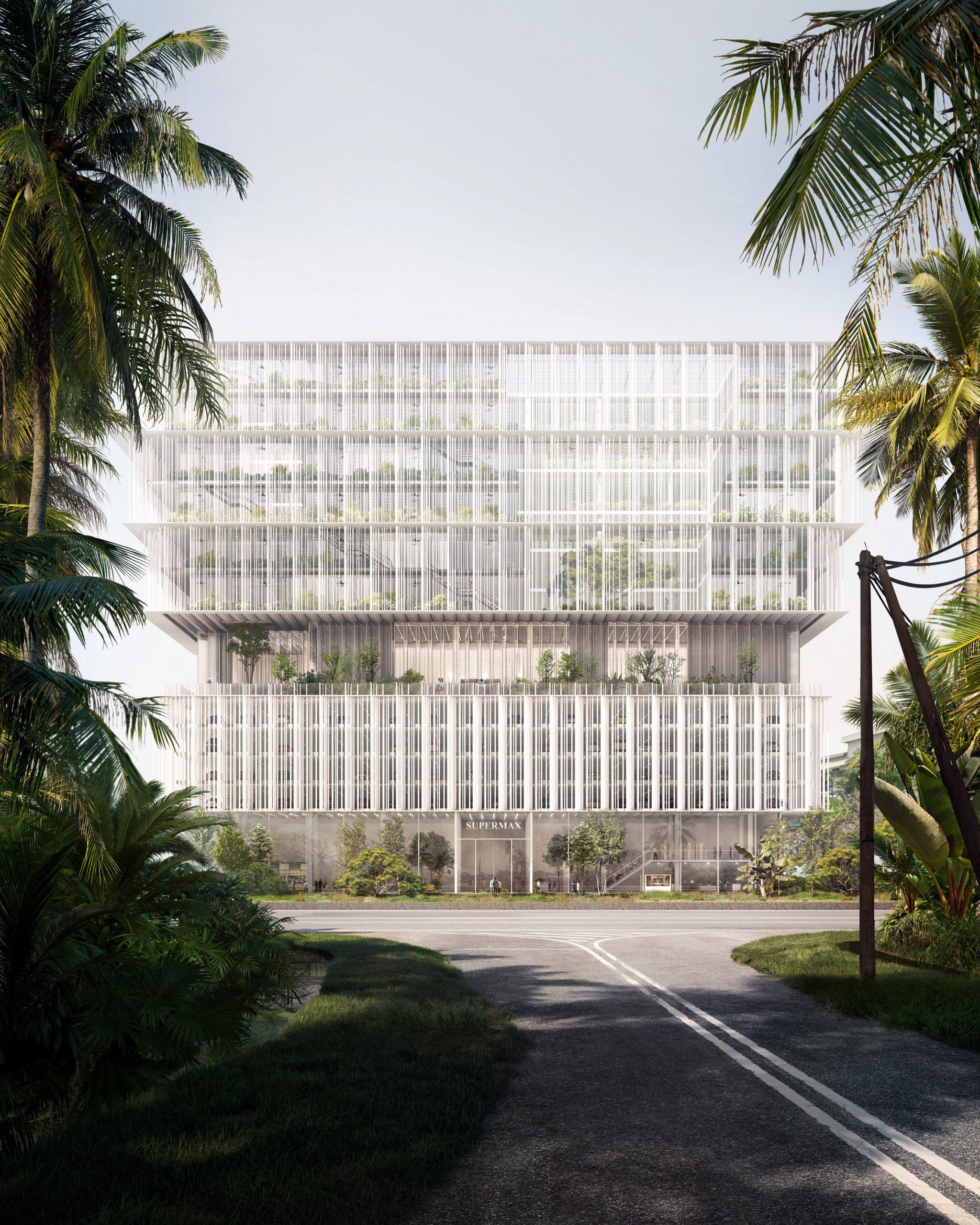 Supermax headquarters by Szczepaniak Astridge