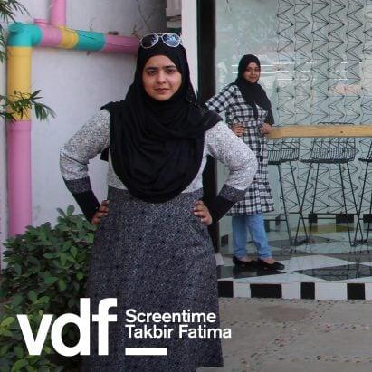 Takbir Fatima Screentime VDF