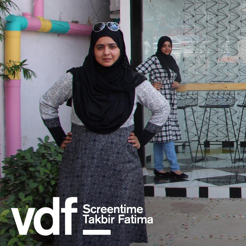 Takbir Fatima Screentime VDF