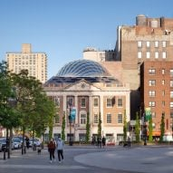 BKSK adds glass dome to roof of Tammany Hall building in New York