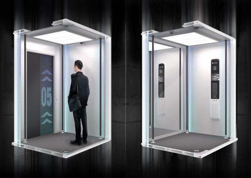 Lightweight Elevator Car by Tobias Zerger