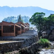 DnA_Design and Architecture builds wooden tofu factory in Chinese mountains