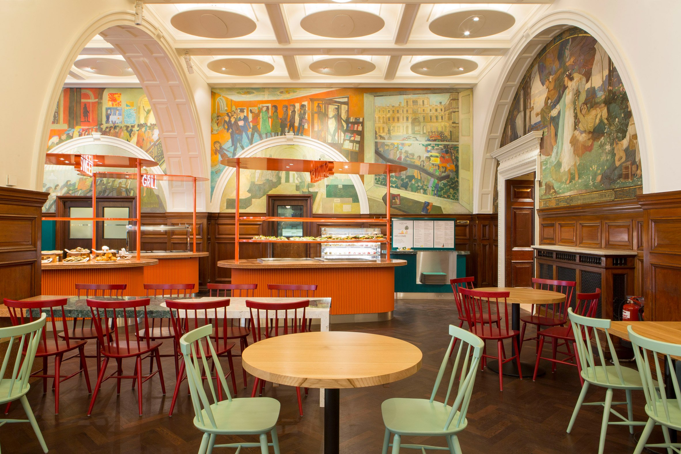 Royal Academy of Arts cafe by Transit Studio
