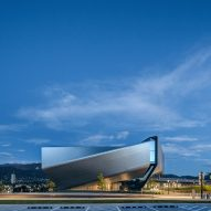 Diller Scofidio + Renfro wraps US Olympic and Paralympic Museum in diamond scales