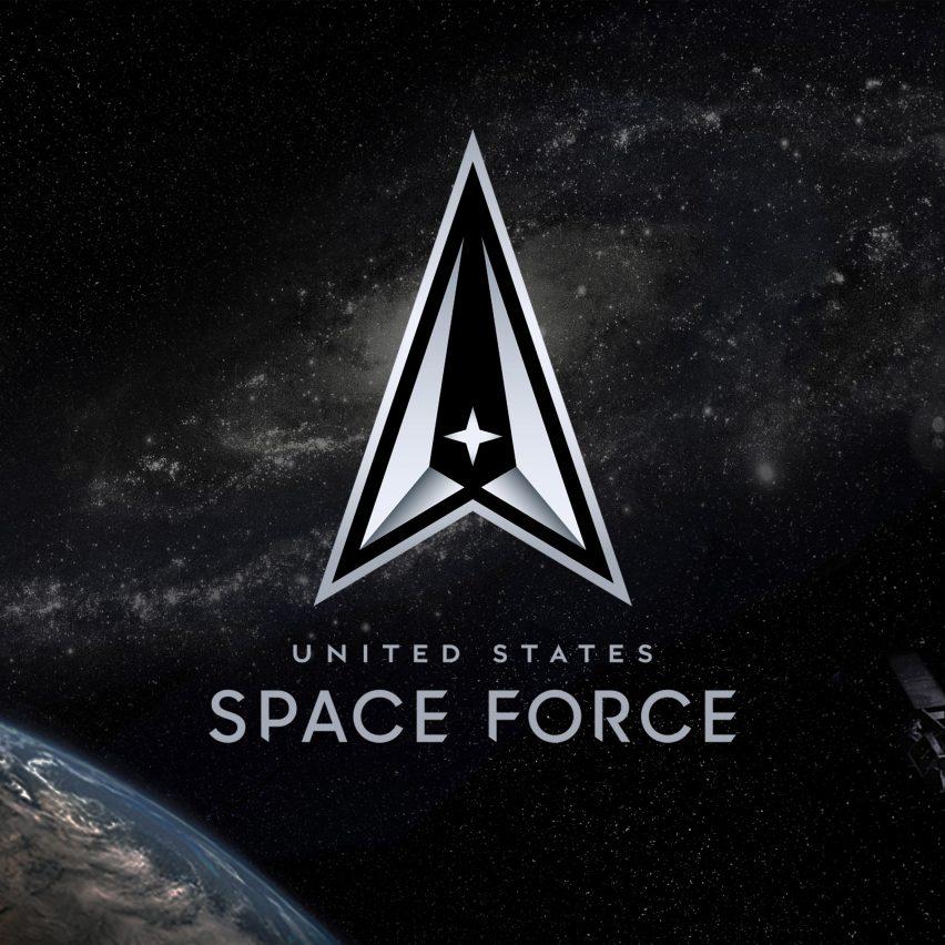 US space force unveils logo