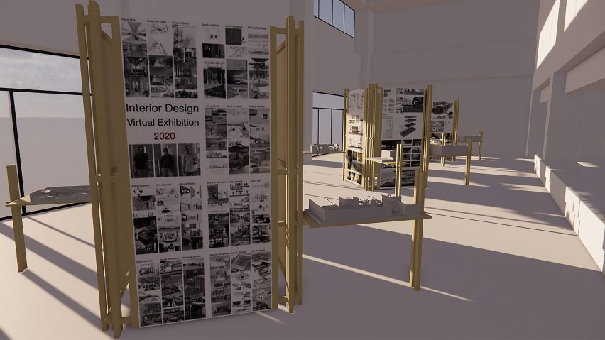 Zayed University Students Present 10 Interior Design Projects