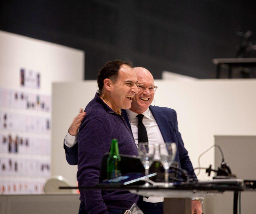 Joep van Lieshout and Hans Lensvelt