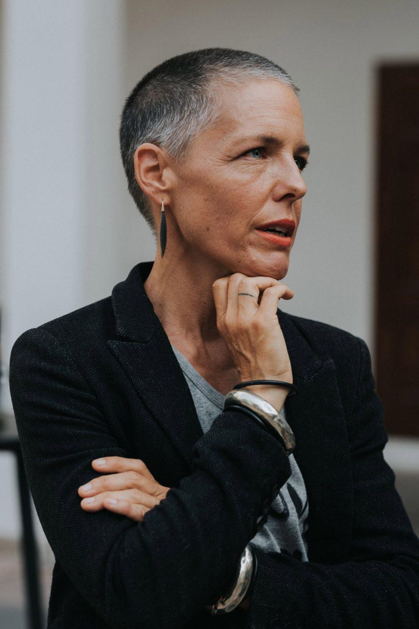 German artist and activist Liina Klauss