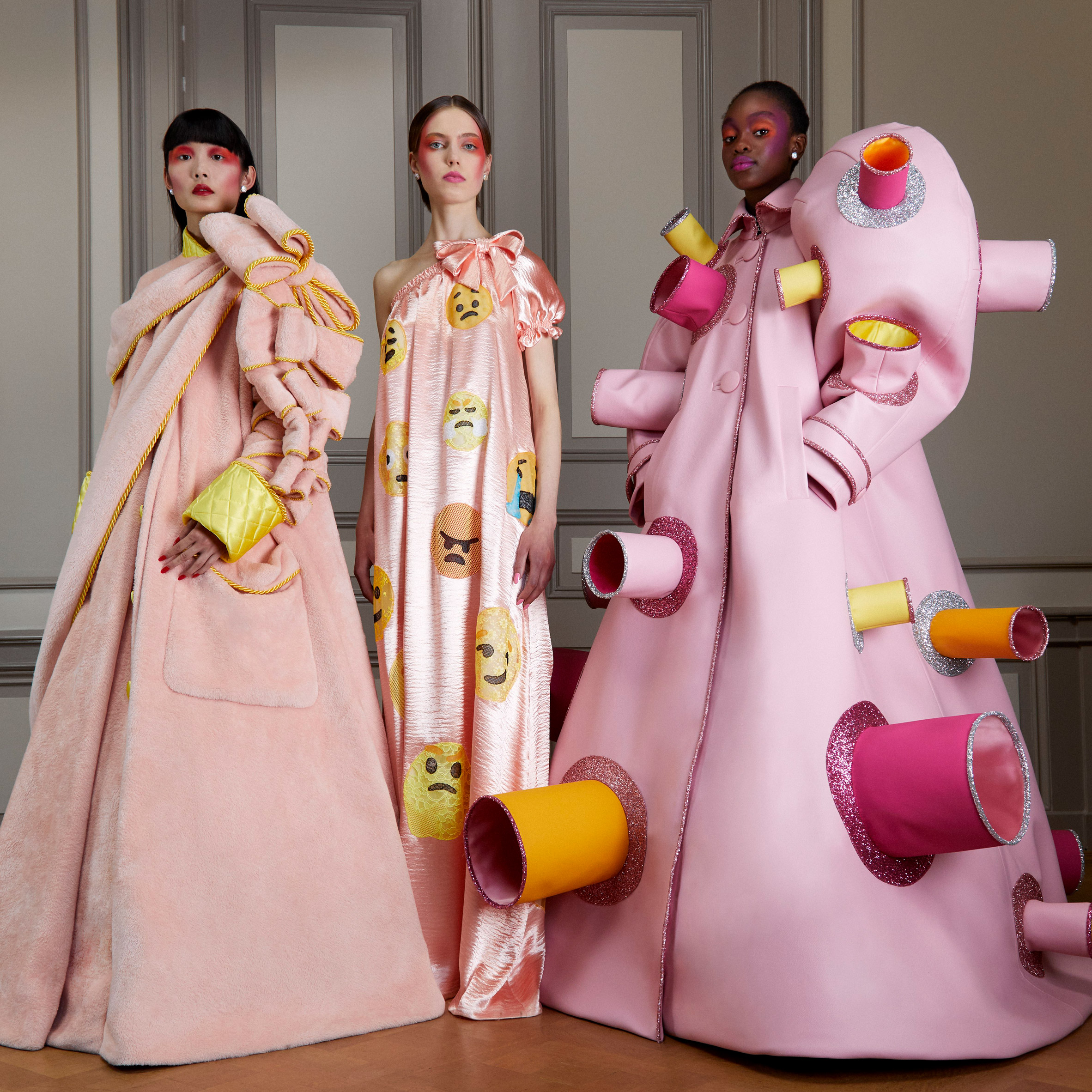 Viktor Rolf Channels Covid 19 Related Mentalities For Latest Fashion Line