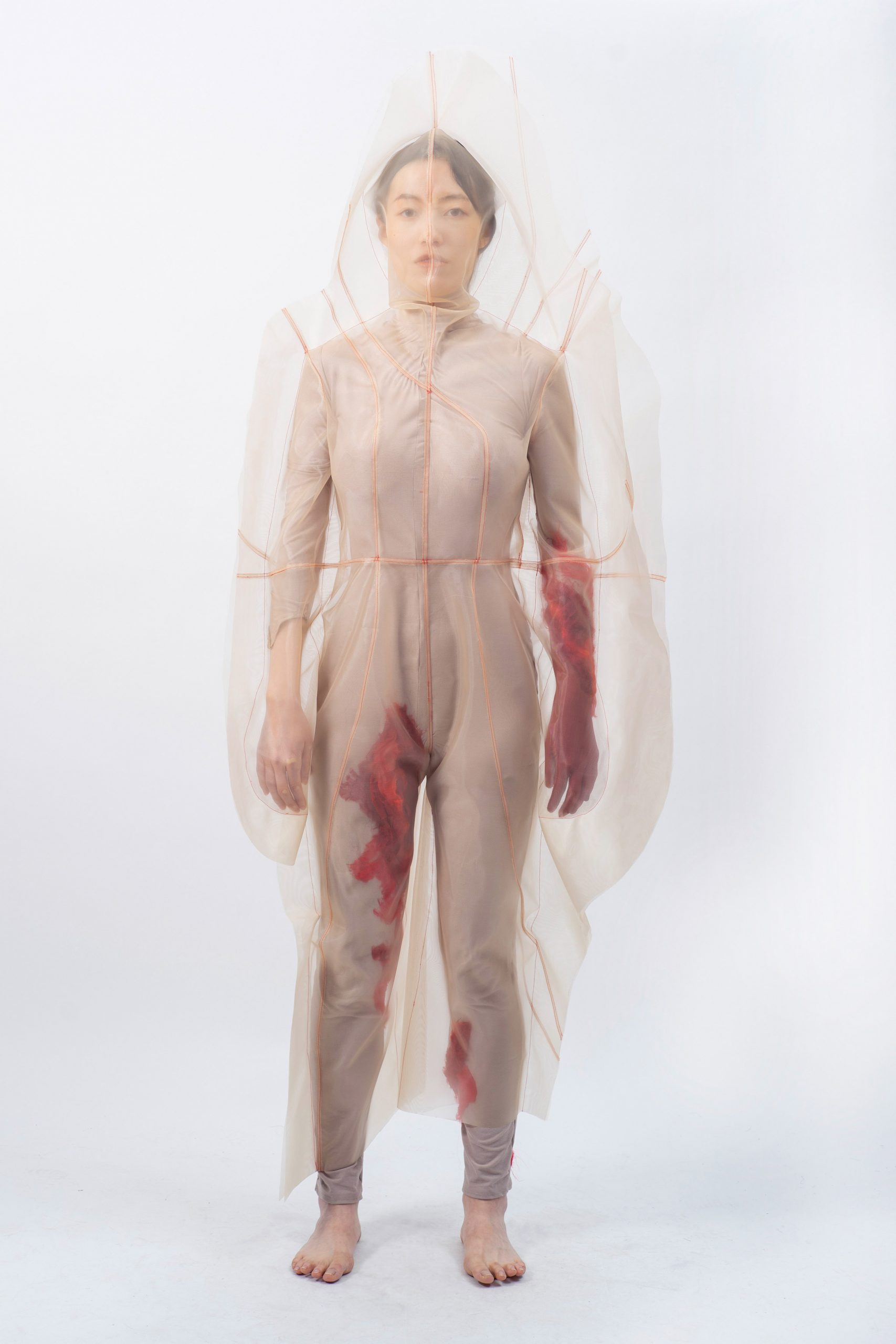 Violet Zhou translates mental states into ethereal fashion collection