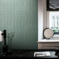 "Wall&decò's textured wallpapers are designed ""to be explored with the hands"""