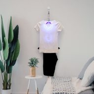 Wearloop by Eric Saldanha cleans clothes using only air and UV light