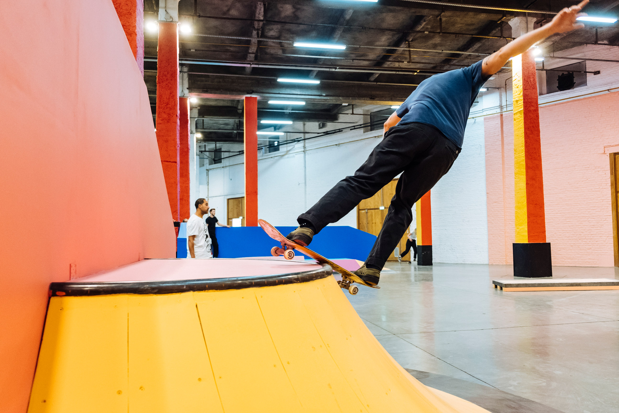 """Yinka Ilori creates """"joy and excitement"""" with colourful skate park padstyle"""