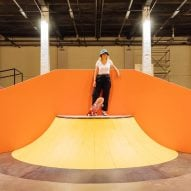 "Yinka Ilori creates ""joy and excitement"" with colourful skate park in Lille"