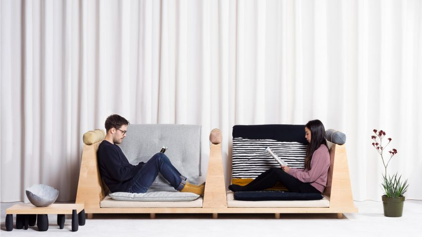 Zabuton Sofa by Ume Studio