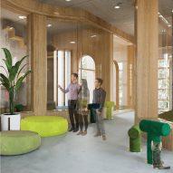 Zayed University students present 10 interior design projects