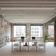 Worrell Yeung designs industrial artist studios in historic Brooklyn factory buildings