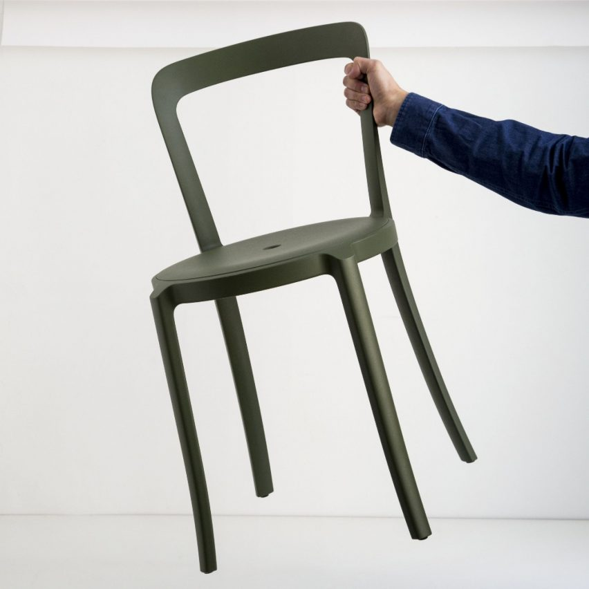 On & On chair designed by Barber Osgerby for Emeco.