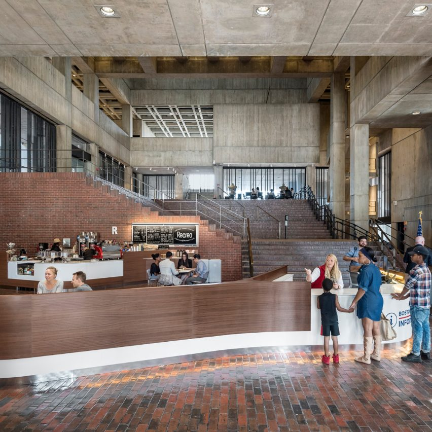 Boston City Hall public space renovations